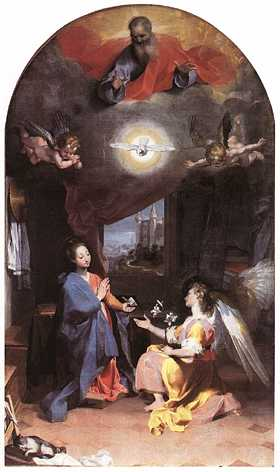 The Annunciation, by Federico Barocci