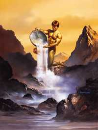 Aquarius, by Boris Vallejo. Click for more Zodiac Images