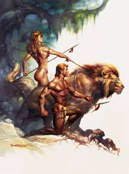 Leo the Lion, by Boris Vallejo