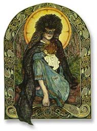 Brigid, Lady Green, by Joanna Powell Colbert.