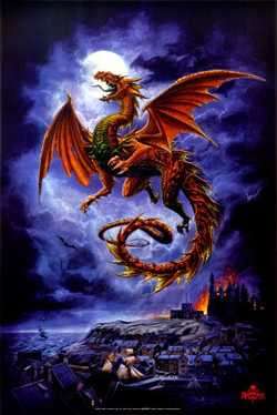 Dragon by Whitby Wyrm