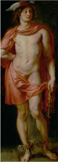 Mercury, by Peter Paul Rubens