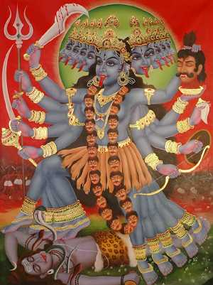 Kali, goddess of strength