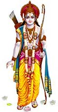 Lord Rama, hero of the Ramayana