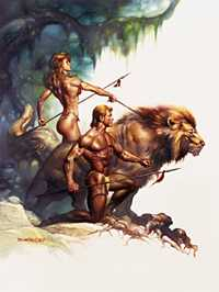 Leo, by Boris Vallejo. Click for more Zodiac Images