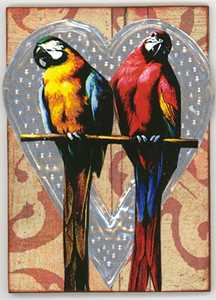 Lovebirds by Francesca Burras