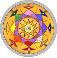 Mandala by Helen Grant-Johnston Click to go to Horoscope Order Format