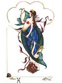 Pisces, the Fishes, by Barbara Nagel.
